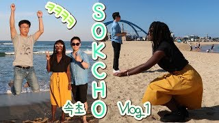 Sokcho, South Korea 속초 Vlog Part 1 - Beach Adventures