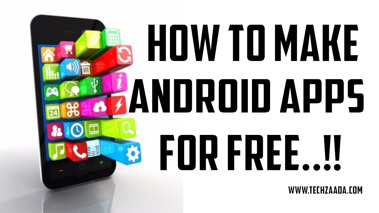 How to make free android app without coding youtube Create free app online