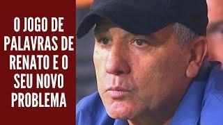 Grêmio foi dominado pelo Flamengo e Renato já joga com as palavras antes do reencontro no Maracanã
