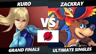Uesma 25 SSBU - Zackray (Banjo) Vs. Kuro (ZSS) Smash Ultimate Tournament Grand Finals
