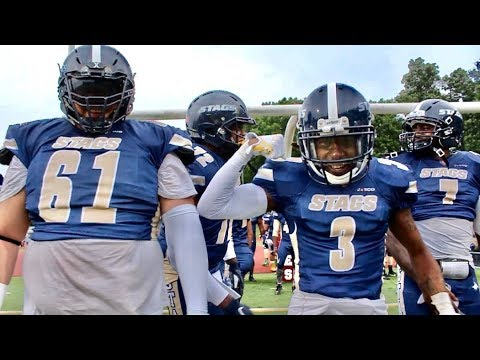 2018 Sussex Stags Vs New Jersey Knights Football Highlights