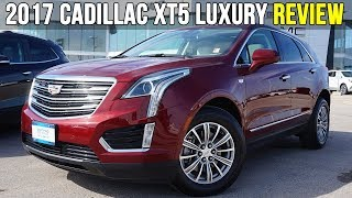 2017 Cadillac XT5 Luxury AWD   Lane Departure, Collision Alert (In-Depth Review)