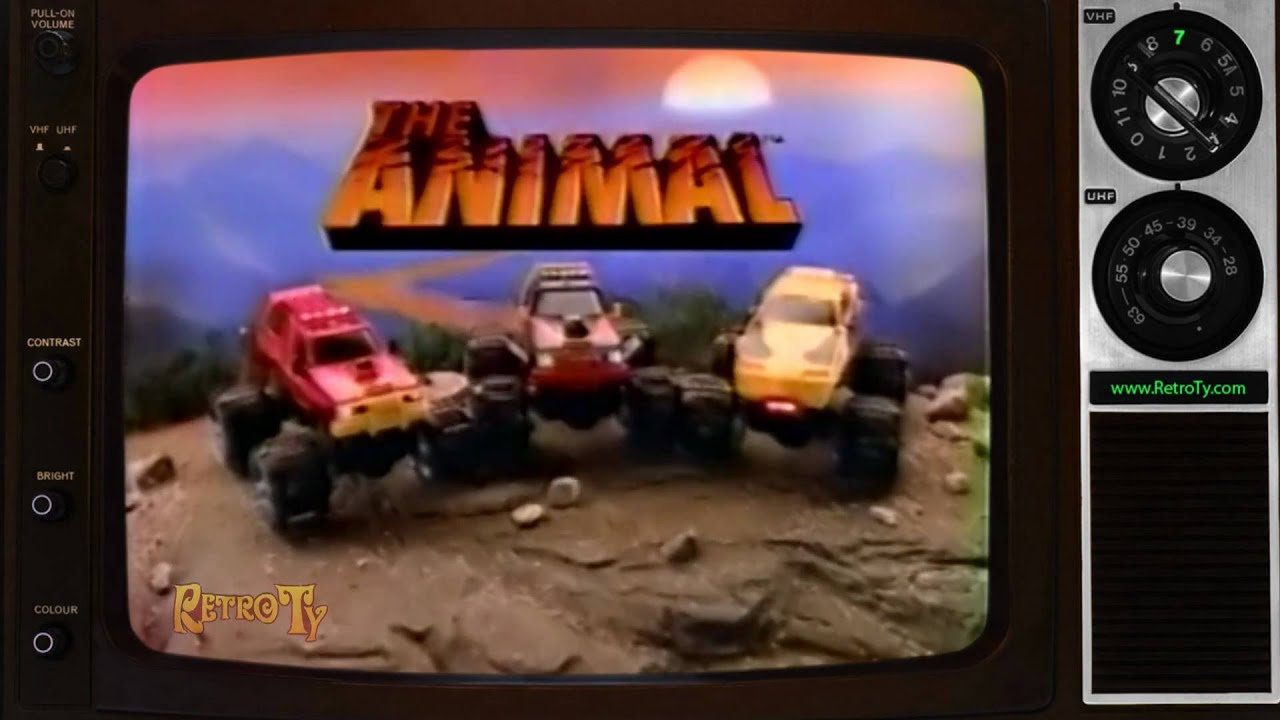 Monster Truck Rc Cars >> 1984 - The Animal Truck Toy Ad - YouTube