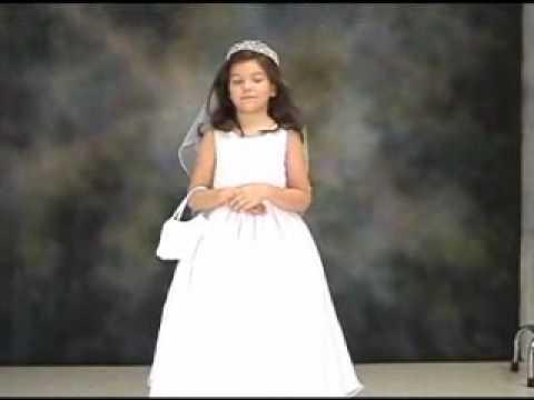 Communion Dress Flower Girl Dress 12072