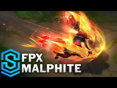 FPX Malphite Skin Spotlight - League of Legends