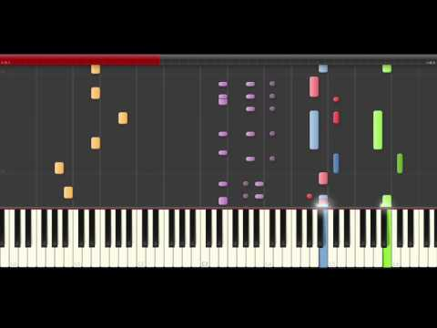 Teletubbies theme piano midi tutorial sheet partitura cover app