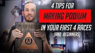 Spartan Training Tips: Making Podium within your first 4 races