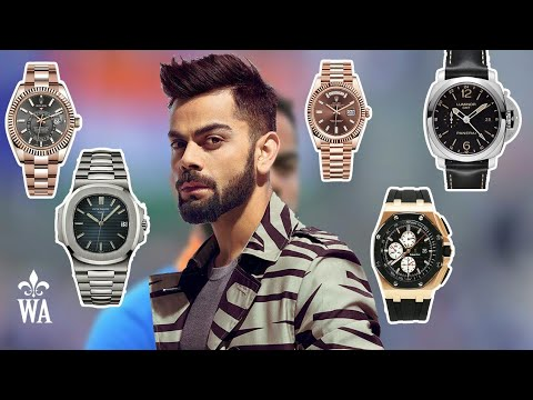 Virat Kohli Watch Collection