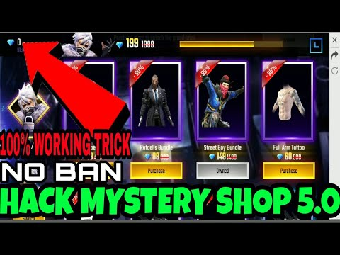 PURCHASE ITEMS WITHOUT DIAMOND || MYSTERY SHOP 5.0 || 100% WORKING TRICK || FREE FIRE