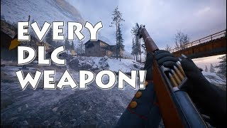 Every DLC Weapon In Action Battlefield 1 S In The Name Of The Tsar Gameplay