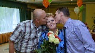 Сюрприз на Юбилей Мамы 14.06.2014. г. Соликамск.