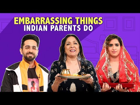 MensXP: Embarrassing Things Indian Parents Do Ft. The Cast Of Badhai Ho
