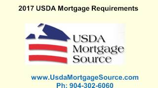 2017 USDA Mortgage Requirements