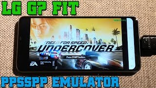 LG G7 Fit - Need for Speed: Undercover - PPSSPP v1.9.4 - Test