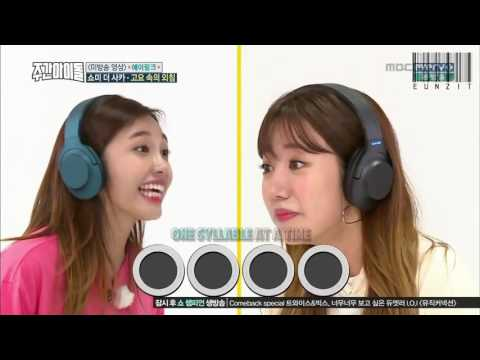 [ENG] 161102 MBCevery1 Weekly Idol - Apink Cut