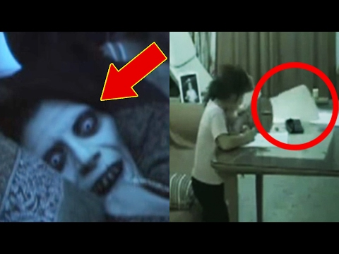 things caught camera terrifying scary creepy paranormal scariest ghost really true play visit