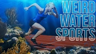 5 Weird Water Sports | Living the Salt Life