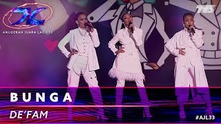 Download Bunga - De Fam | #AJL33 Mp3