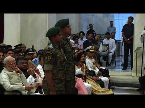 President Kovind presents