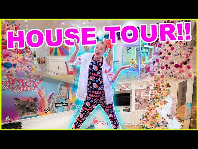 Toy Story Toys Official House Tour Jojo Siwa Videos For Kids