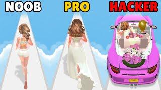 NOOB vs PRO vs HACKER in Doll Designer screenshot 2