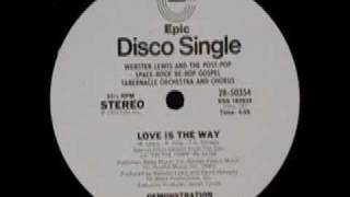 Webster Lewis - Love is the way