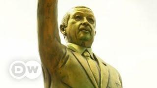 Almanya'da tartışma yaratan Erdoğan heykeli - DW Türkçe