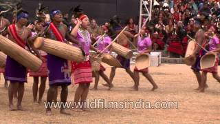 Garo tribal dancers from North-East India