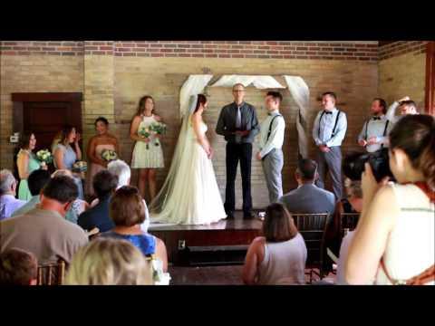 Rachelle & Andew's wedding ceremony