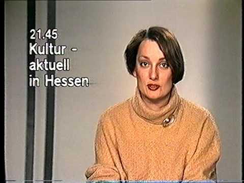 Ansage Programmansage Vorschau Hessen 3 HR 3 Januar 15.1.1985 Claudia Weisbart