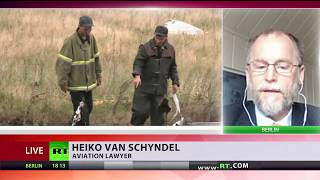 'It's a one way investigation' - Aviation lawyer Van Schyndel on MH17 probe