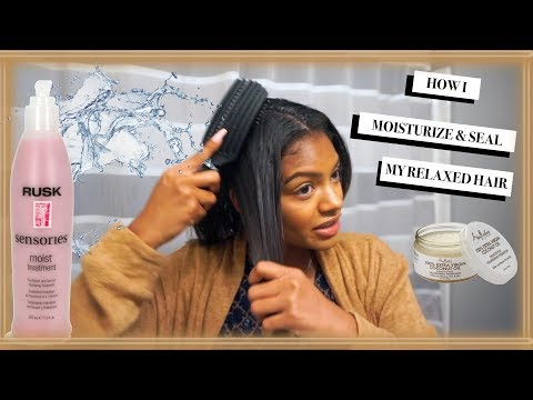 Moisturize & Seal Relaxed Hair   Jazzie Jae T