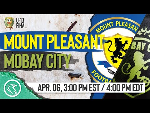 Mount Pleasant Academy vs MoBay City: April 6, 2019, U-13 Final 1/2