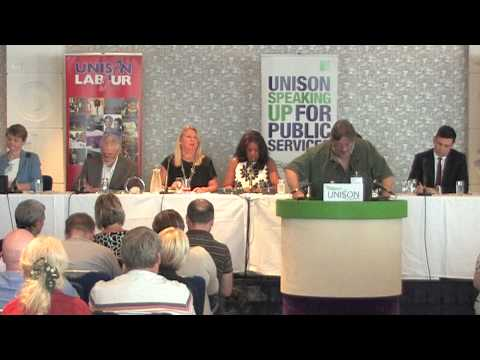 Labour leadership debate at UNISON - Part 1