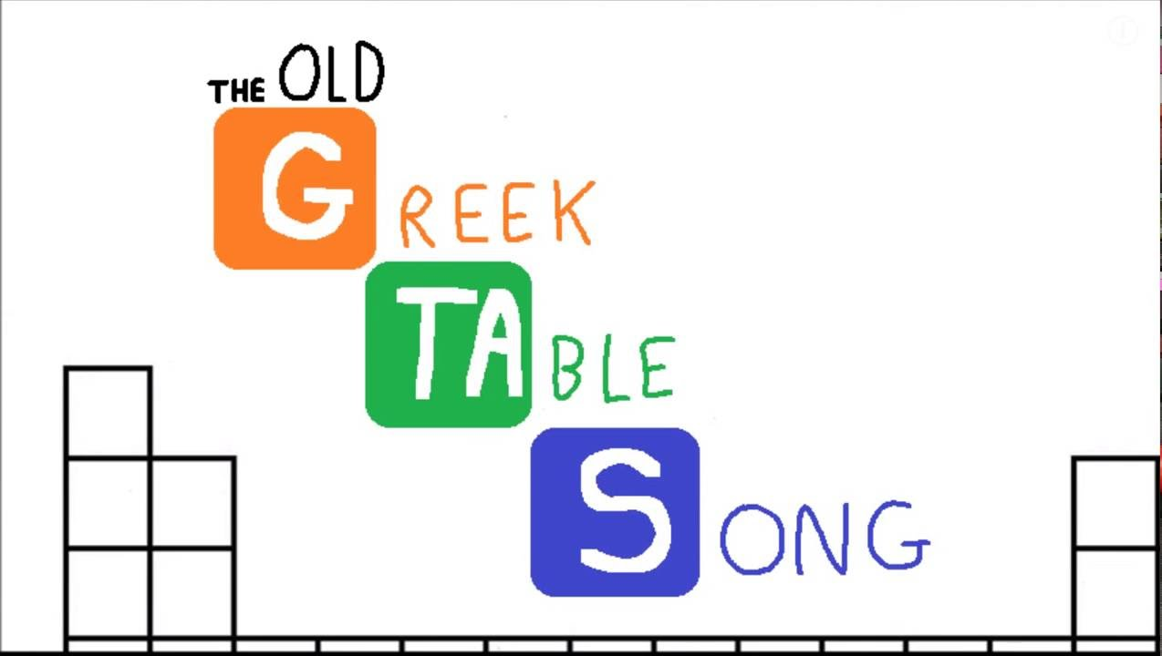 The old greek table song outdated youtube the old greek table song outdated gamestrikefo Image collections