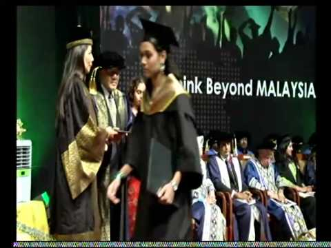 Asia Metropolitan University (AMU)  Convocation 2013 - Session 1 Part 5