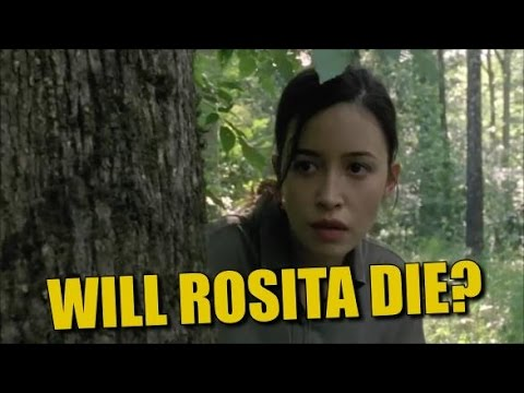 The Walking Dead Discussion Will Rosita Die?