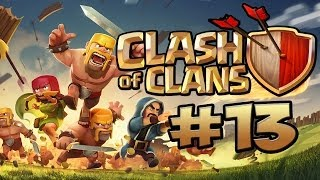 CLASH OF CLANS #13 - MEINE VERTEIDIGUNG IST GEIL ★ Let's Play Clash of Clans