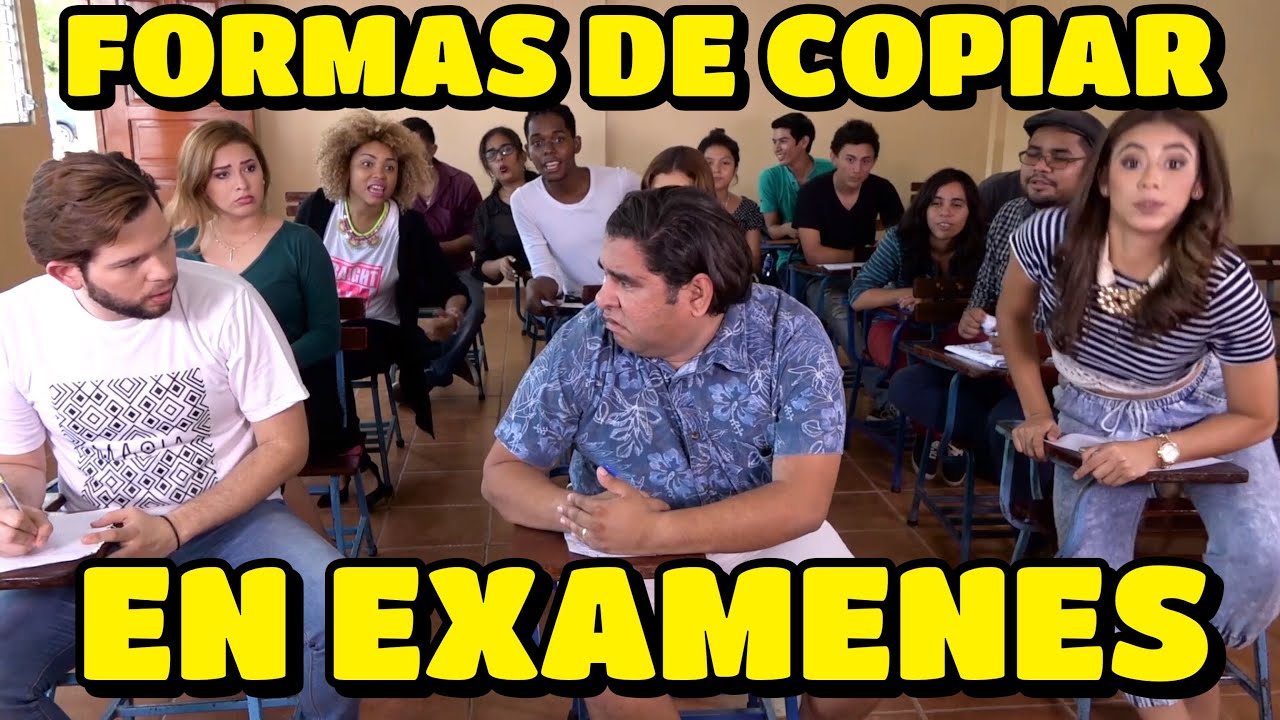 Formas de Copiar en Examenes   JR INN