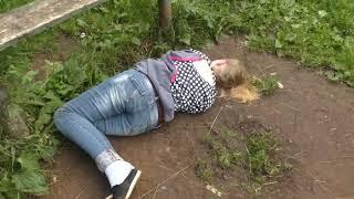 Странные поминки во дворе на ул  Попова  Место происшествия 01 08 2018