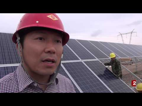 France 2  Energie solaire en Chine