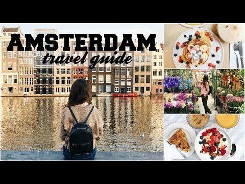 AMSTERDAM TRAVEL GUIDE!! - Cosa Visitare, Dove Mangiare & More! | itsLucretia