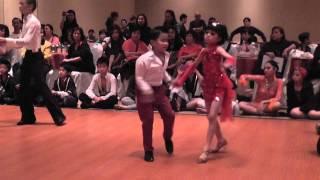 A&C Ballroom Dance Competition '13 - Juvenile Latin (Cha Cha)