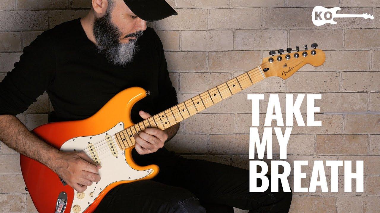 The Weeknd - Take My Breath - Electric Guitar Cover by Kfir Ochaion - Fender Player Plus