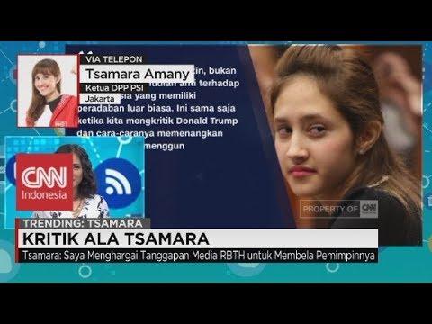 Media Rusia Kritik Pernyataan Tsamara Amany