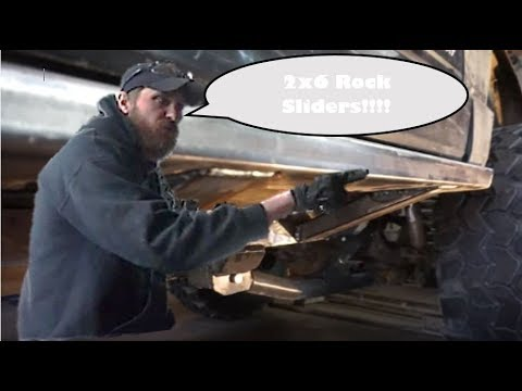 Jeep Cherokee XJ 2x6 rocker panel replacement
