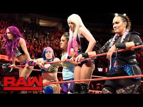 The Raw Women's division strikes back against Absolution: Raw, Dec. 11, 2017