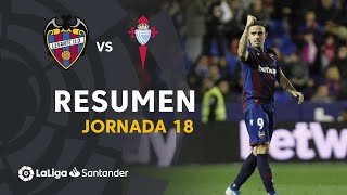 Resumen de Levante UD vs RC Celta (3-1)