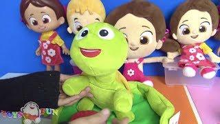 Niloya39;nın yeni tospik oyuncak tanıtımı - 4 Niloya 1 Mete 3 Tospik - Niloya çizgi filmi oyuncakları