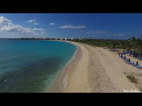 Shoal Bay West Anguilla Aerial Filming